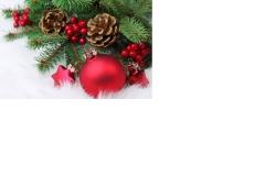 kerstukjes uitnodiging